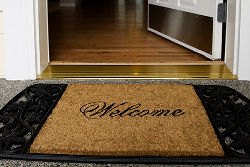 Welcome Mat Decluttering