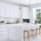 renovate modern white kitchen